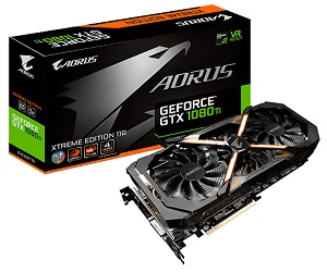 GIGABYTE AORUS GEFORCE GTX 1080Ti 11GB