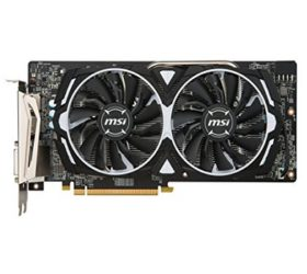 MSI ARMOR RX 580 frontal