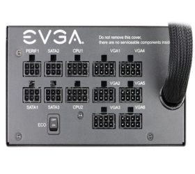 EVGA 1000 GQ lateral