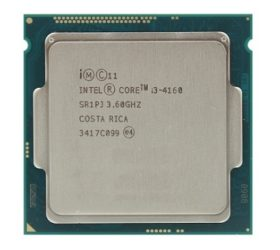 Intel Core i3 4160 3.6 GHz frontal